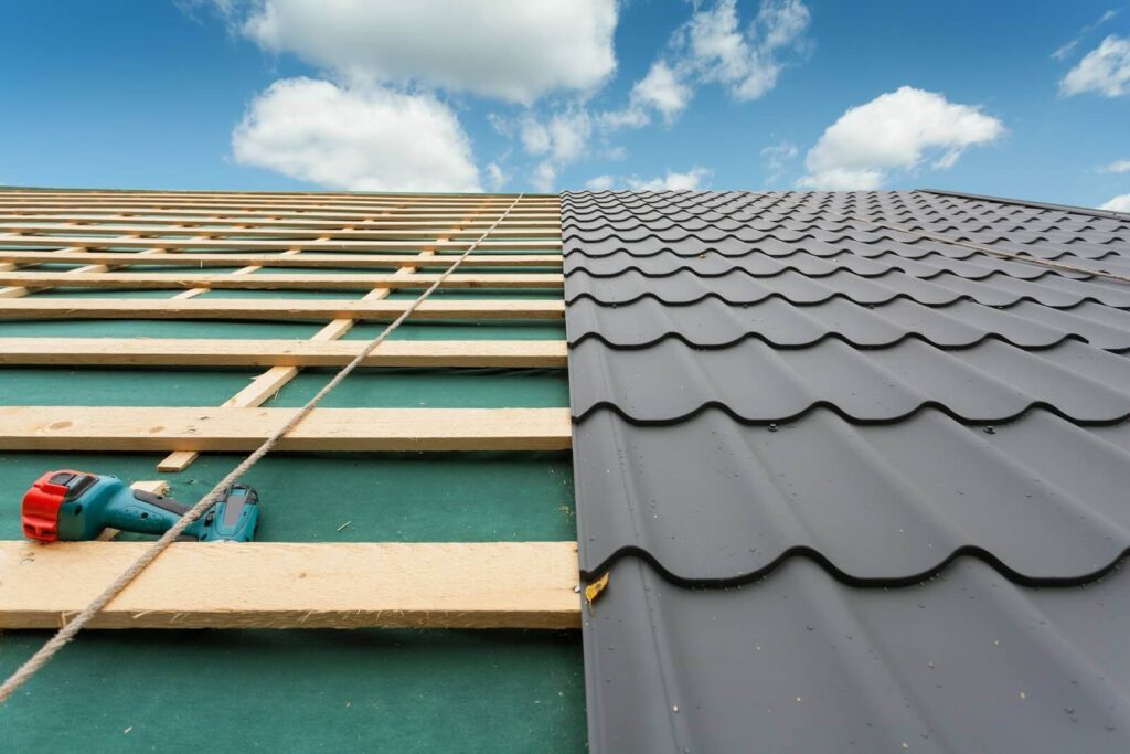 Re-Roofing (Retrofitting) Metal Roofs-Metro Metal Roofing Company of Delray Beach