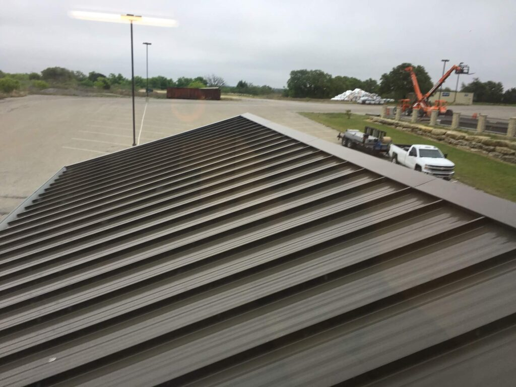 Tapered Panels Metal Roof-Metro Metal Roofing Company of Delray Beach